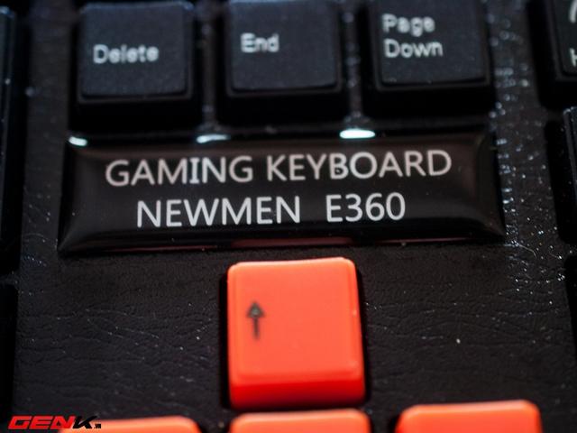 Bàn phím Newmen E360, món hàng hot cho game thủ bình dân và tiệm Net