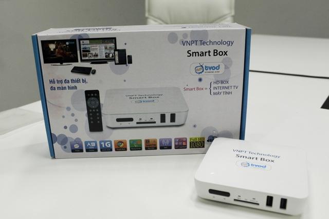 Smart Box là sản phẩm có thể tương thích với các loại TV thông thường và biến chúng thành SmartTV chạy hệ điều hành Android với mức giá hợp lý