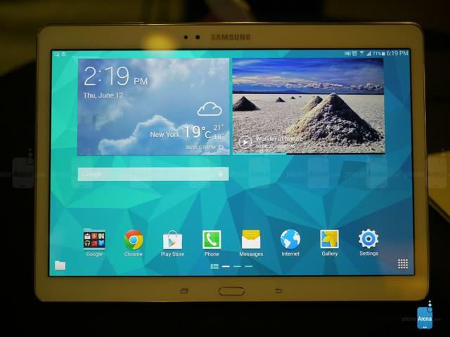 Samsung Galaxy Tab S 10.5 screenshots - Samsung Galaxy Tab S 10.5 hands-on