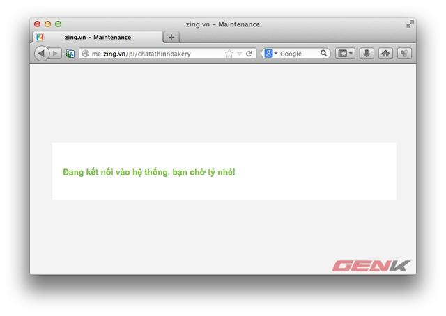 Một số tài khoản không thể truy cập vào trang cá nhân.