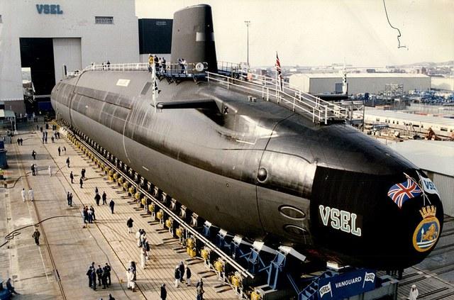 Hình ảnh về thế hệ tàu ngầm Trident