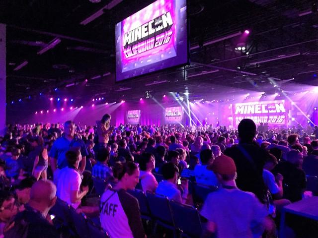 Hội nghị Minecon 2016 ở Anaheim.