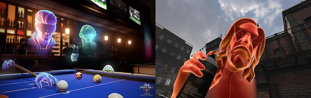Bạn sẽ được thấy Avatar Oculus trong cách trò chơi yêu thích