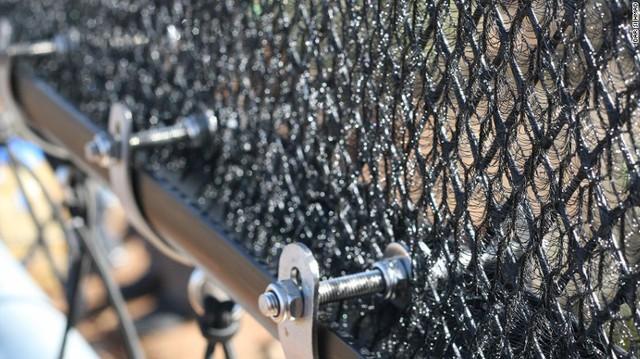 Những tấm lưới mau có thể tạo ra khoảng 6.000 lít nước mỗi ngày