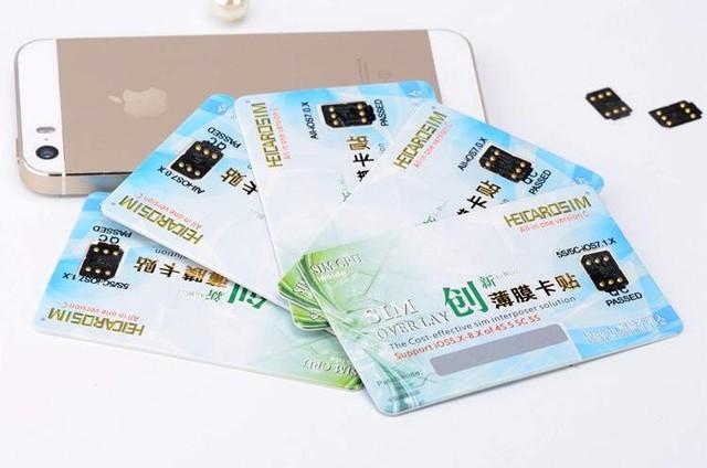 SIM ghép là người bạn đồng hành của những chiếc iPhone lock