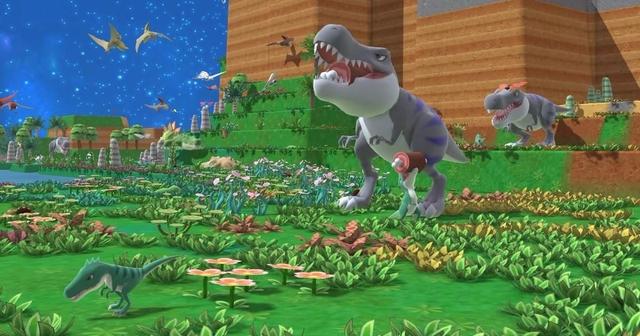 Nuôi khủng long trong Birthdays the Beginning.