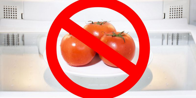 Nghiên cứu mới cho thấy không nên để cà chua trong tủ lạnh để giữ được hương vị tốt nhất