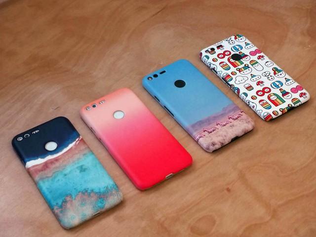 Những mẫu case này cũng do Google tự thiết kế và sản xuất.