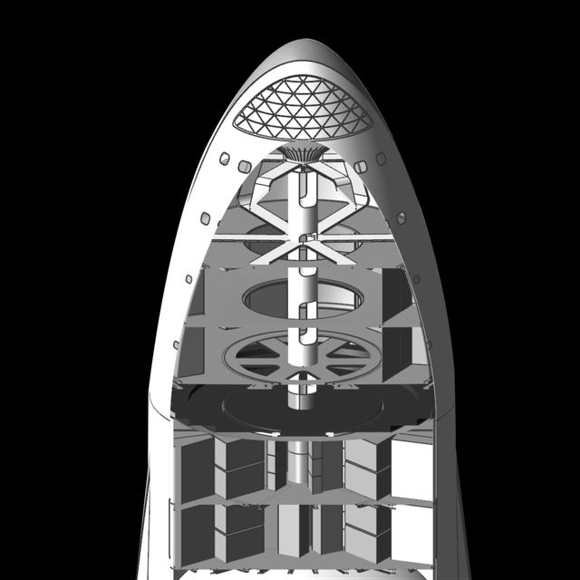 Nếu đây là bên trong tàu vũ trụ của Elon Musk đến Sao Hỏa, bạn có muốn đi không? - Ảnh 2.