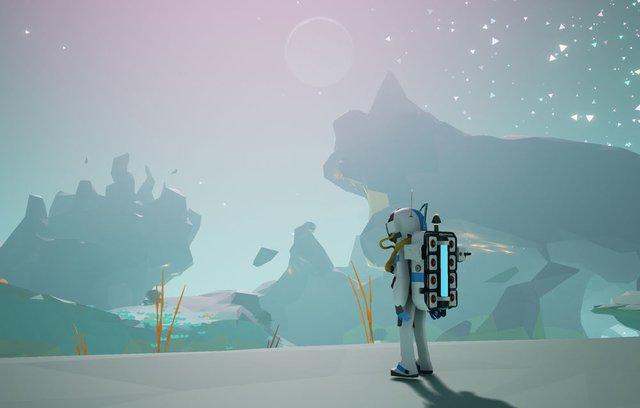 Astroneer có đồ họa đẹp theo một phong cách nghệ thuật thường thấy ở các game indie.