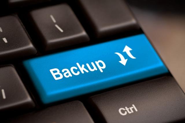 Hãy luôn coi trọng việc backup và thực hiện một cách đầy đủ, an toàn
