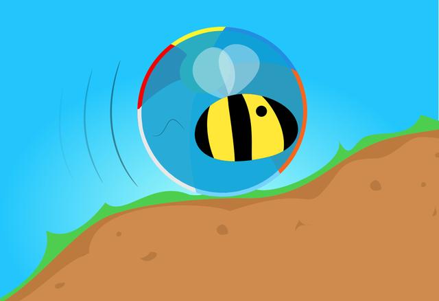 Trở thành một con ong khổng lồ, đánh bại những con ong le ve khác và di chuyển theo một hướng duy nhất, đi nhanh chóng nhất.