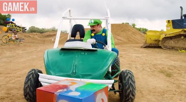 Luigi bình thường rất nhút nhát.