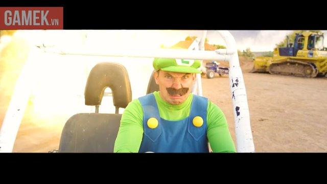 Cũng banh xác dưới cơn thịnh nộ của Luigi ngay...