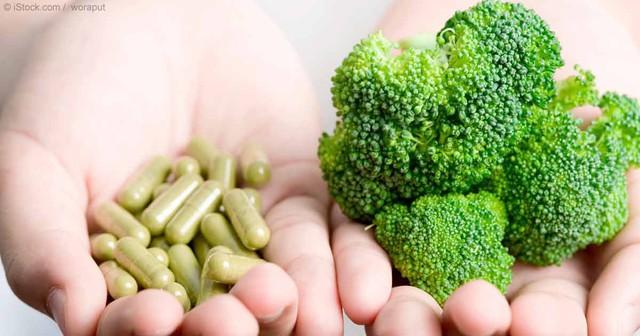 Nạp dinh dưỡng từ thực phẩm thì tốt hơn thực phẩm chức năng