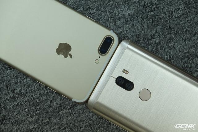 Mi 5s Plus và iPhone 7 Plus đều sở hữu camera kép