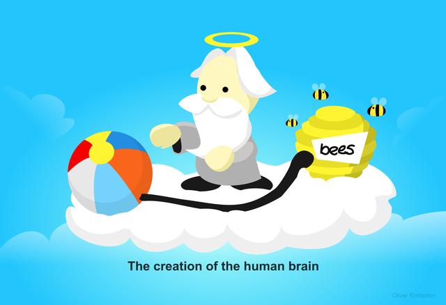 Mỗi ý tưởng nảy ra trong não chúng ta giống một con ong bay vo ve - chúng tạo ra nhiều xung đột và mâu thuẫn, đẩy chúng ta theo nhiều phương hướng khác nhau. Kết quả, ta không biết nên tập trung vào điều gì