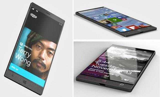Concept Surface Phone bị rò rỉ cách đây không lâu