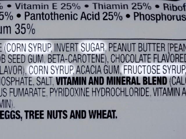 Đọc bảng thành phần để tìm ra những loại thực phẩm chứa HFCS