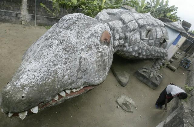 Nghệ nhân Moussa Kalo đã thiết kế căn nhà hình cá sấu này vào năm 2008, nhưng đáng tiếc là ông đã mất chỉ 2 tháng sau khi hoàn thành công trình của mình. Căn nhà này tọa lạc tại Abidjan, thủ đô cũ của Bờ Biển Ngà.