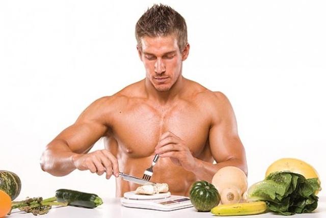 Cơ bắp được hình thành chủ yếu nhờ vào protein