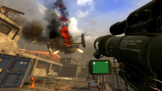 Hình ảnh của Black Mesa khi phát hành vào năm 2012.