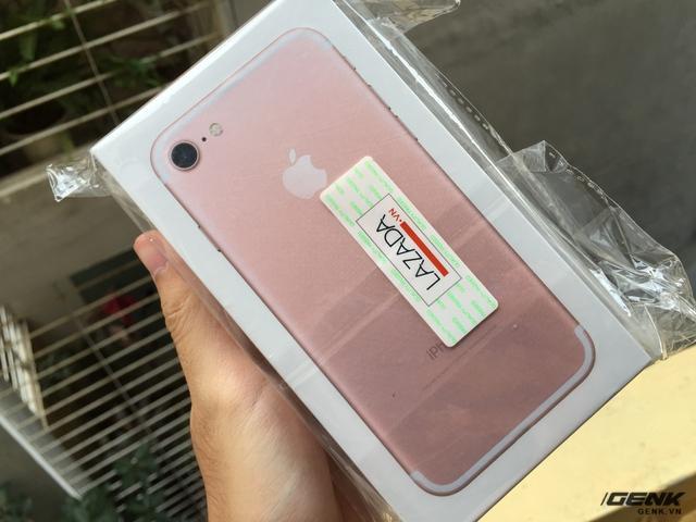 Chiếc iPhone 7 mà anh Minh nhận được