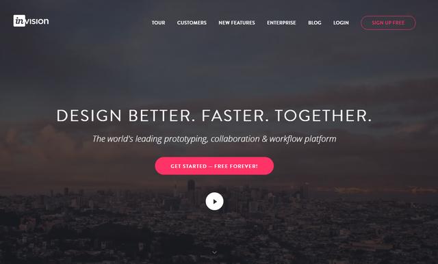 InVision - công cụ giúp các startup nhanh chóng cho ra nguyên mẫu sản phẩm trước khi bắt tay vào code