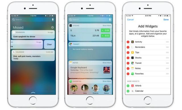 Chưa ra mắt bao lâu, iOS 10 đã gặp rất nhiều lỗi.