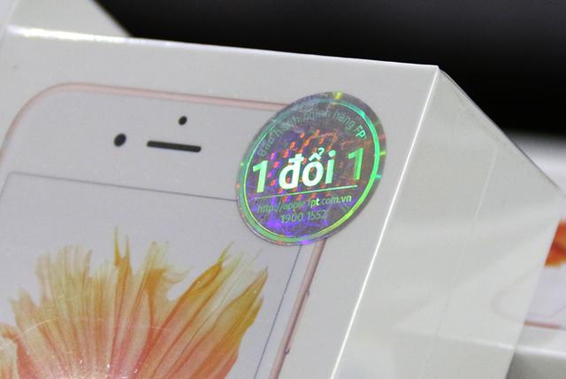 iPhone chính hãng được bảo hành 1 đổi 1 theo đúng quy định của Apple