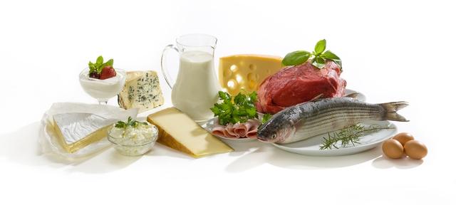 Các loại thực phẩm có nguồn gốc động vật cung cấp tất cả các axit amin thiết yếu cho con người