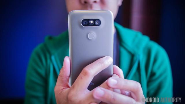 Chiếc LG G5.