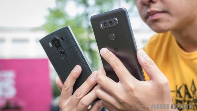 LG V10 và LG V20.