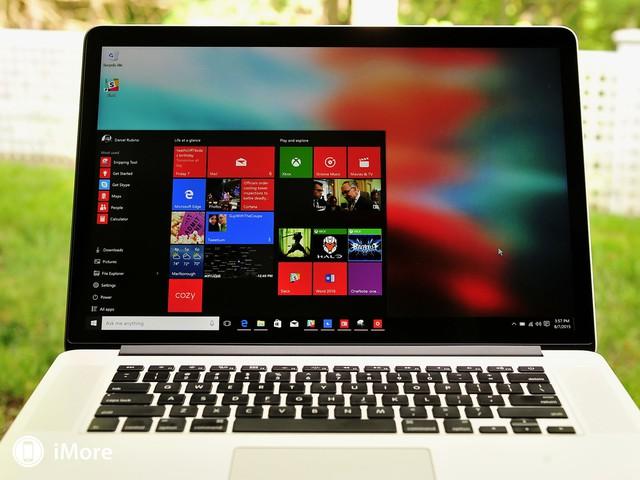 Người dùng có thể dễ dàng cài đặt Windows qua công cụ Boot Camp có sẵn