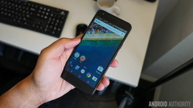 Nexus 5X, một sản phẩm được LG phát triển cho Google.