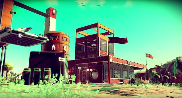 Người chơi giờ đây đã có thể xây căn cứ trong No Mans Sky.