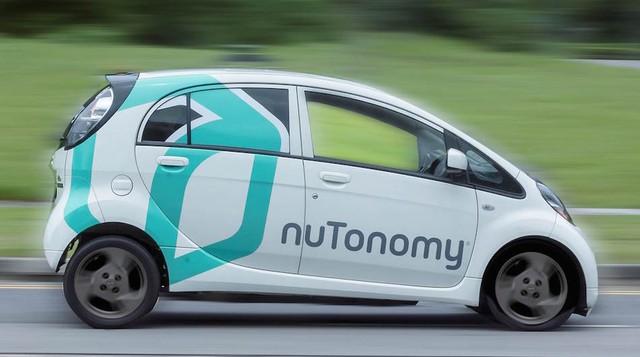 Xe tự lái của NuTonomy