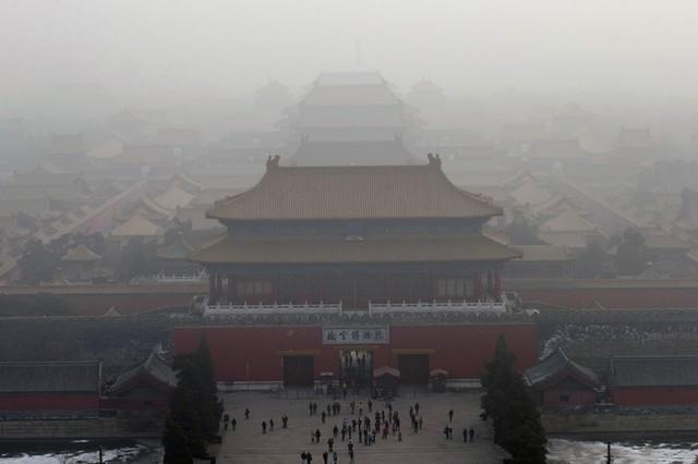 Trong không khí ô nhiễm ở Bắc Kinh chứa rất nhiều gen vi khuẩn kháng thuốc