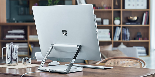 Microsoft Surface Studio được thiết kế và hoàn thiện rất sang trọng