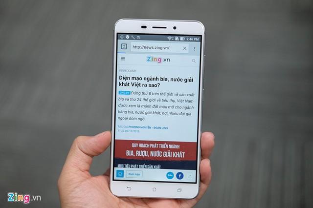 KT Browser trên Android.