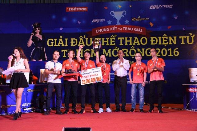 Boss.CFVN Vô Địch Giải Thể Thao Điện Tử Mở Rộng