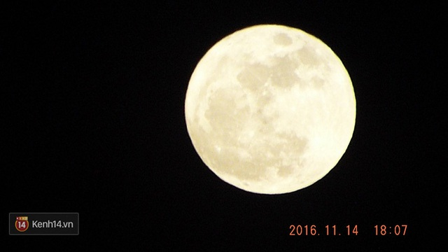 Ngày 14/11 này là lần Mặt Trăng ở gần Trái Đất nhất kể từ tháng 1/1948. (Ảnh: Minh Kỳ)