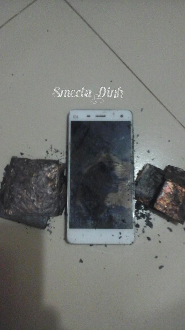 Chiếc Xiaomi Mi4 phát nổ tại Việt Nam