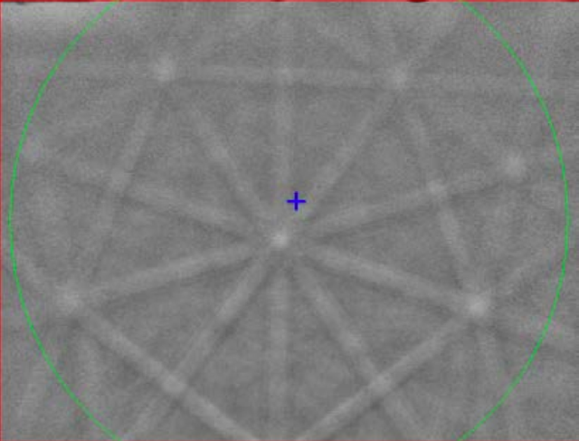Hình ảnh cấu trúc đối xứng quay bậc 5 của giả tinh thể