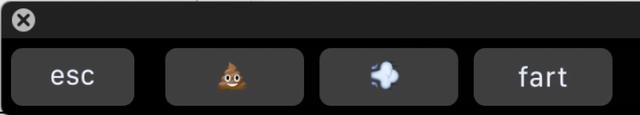 Giao diện của TouchFart