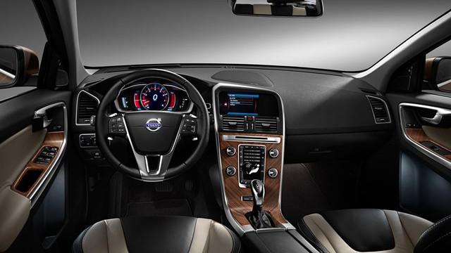Nội thất bên trong Volvo XC60.