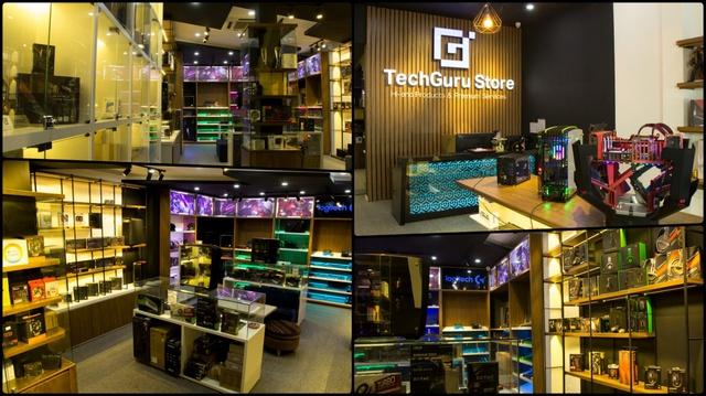 Toàn cảnh TechGuru Store, với những sản phẩm linh kiện PC, gaming gear cao cấp và mới nhất hiện nay