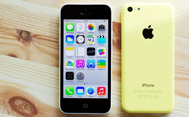 Việc ngừng bán ra iPhone 5C cũng là lí do đẩy giá trung bình của iPhone tăng lên trong năm nay