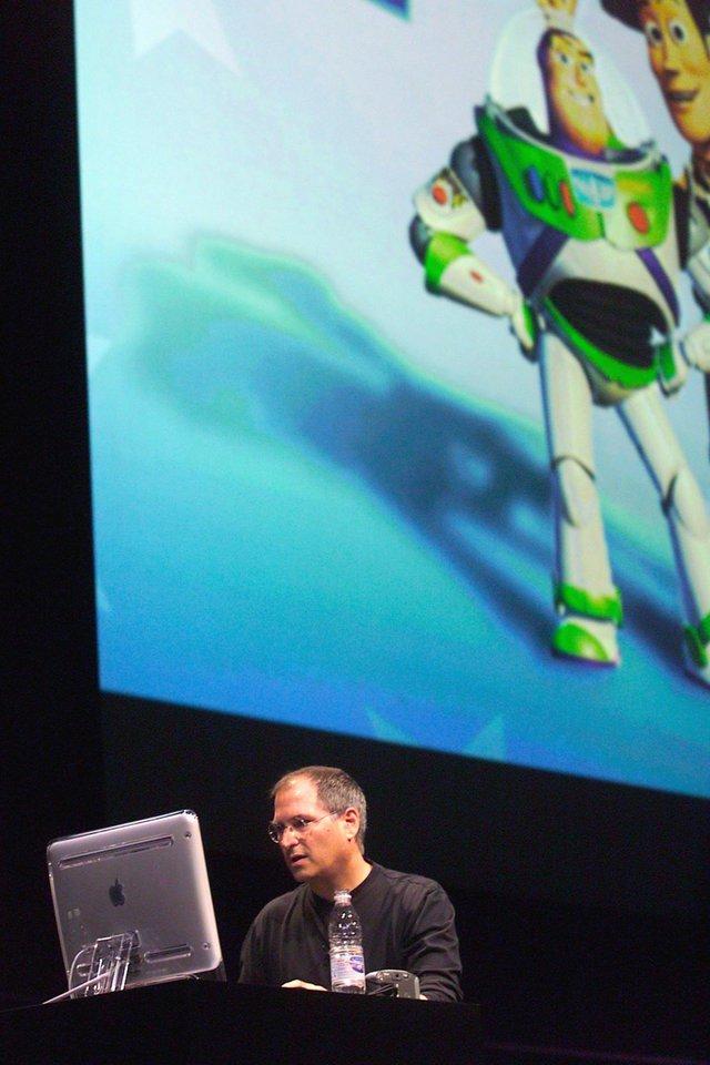 Trong lúc gặp khó khăn, Jobs đang là CEO của cả Apple là Pixar, bởi ông là cổ động lớn nhất của Studio phim này sau khi đầu tư 10 triệu USD vào nó trong năm 1986. Thậm chí Jobs còn là nhà sản xuất điều hành của bộ phim hoạt hình Toy Story phát hành năm 1995.
