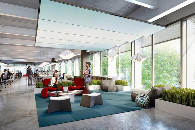 Theo ông Benioff, Salesforce Tower tạo ra không gian làm việc cho 10.000 nhân viên Salesforce, tức là một phần ba lượng nhân viên hiện tại trên toàn thế giới.